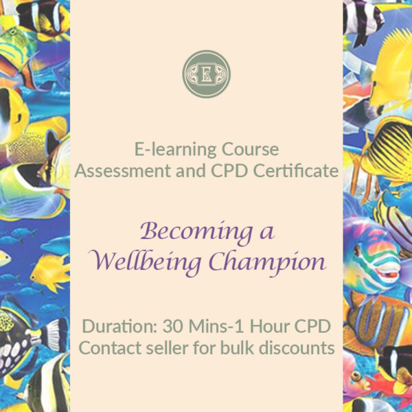 E-Learning Course: Becoming a Wellbeing Champion