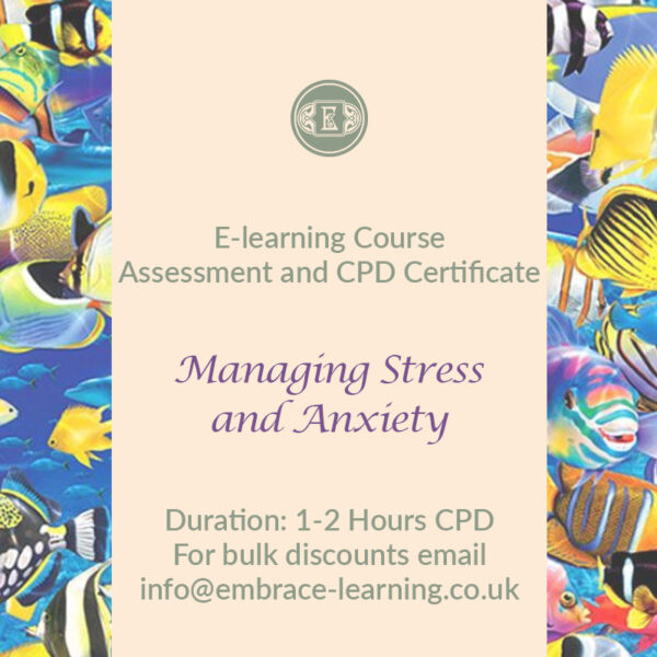 E-Learning Course: Managing Stress and Anxiety