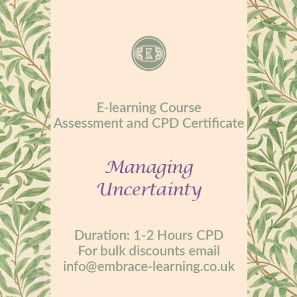 E-Learning Course: Managing Uncertainty