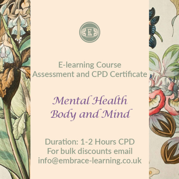 E-Learning Course: Mental Health Body and Mind