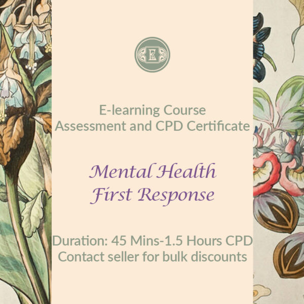 E-Learning Course: Mental Health First Response