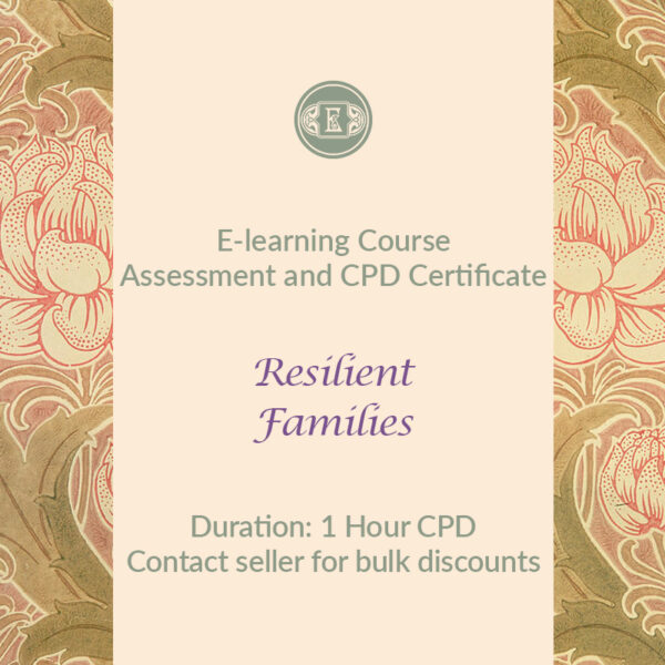 E-Learning Course: Resilient Families