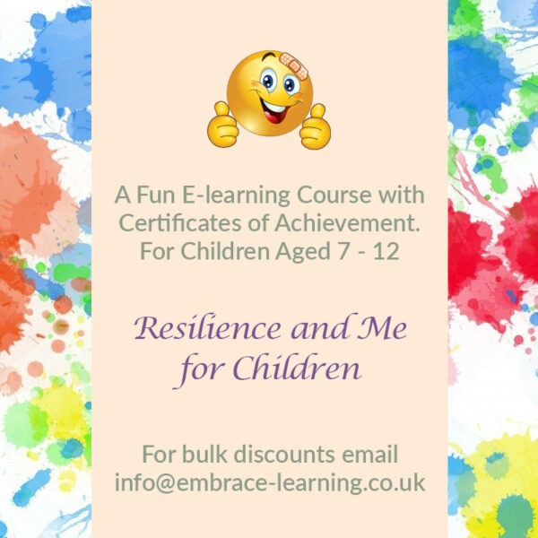 E-Learning Course: Resilience and Me for Children