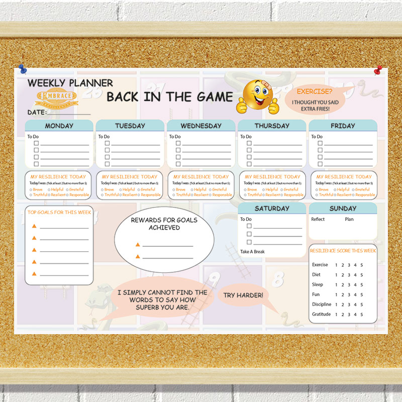 Image of Embrace Weekly Planner